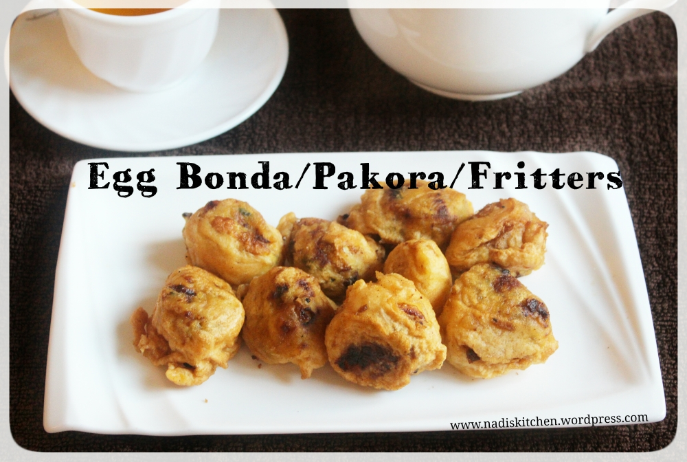 Egg Bonda/Pakora (Egg Fritters)