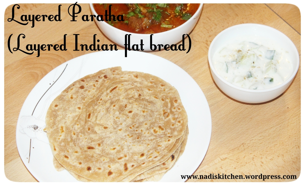 how to make multi layered paratha