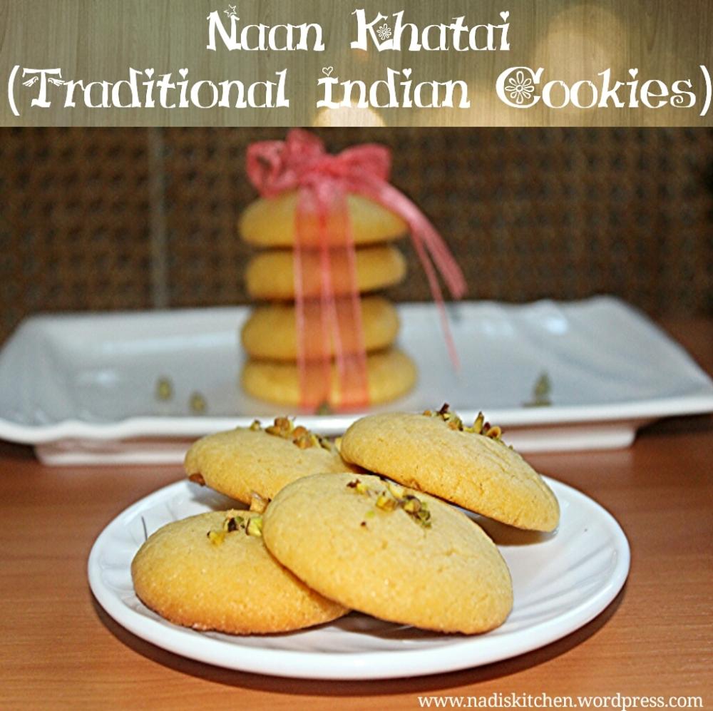 Besan Naan khatai (Indian gram flour cookie)