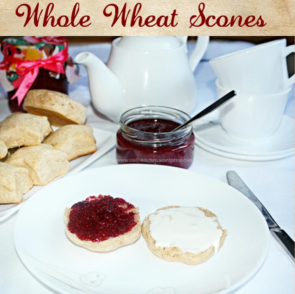 Whole Wheat Scones