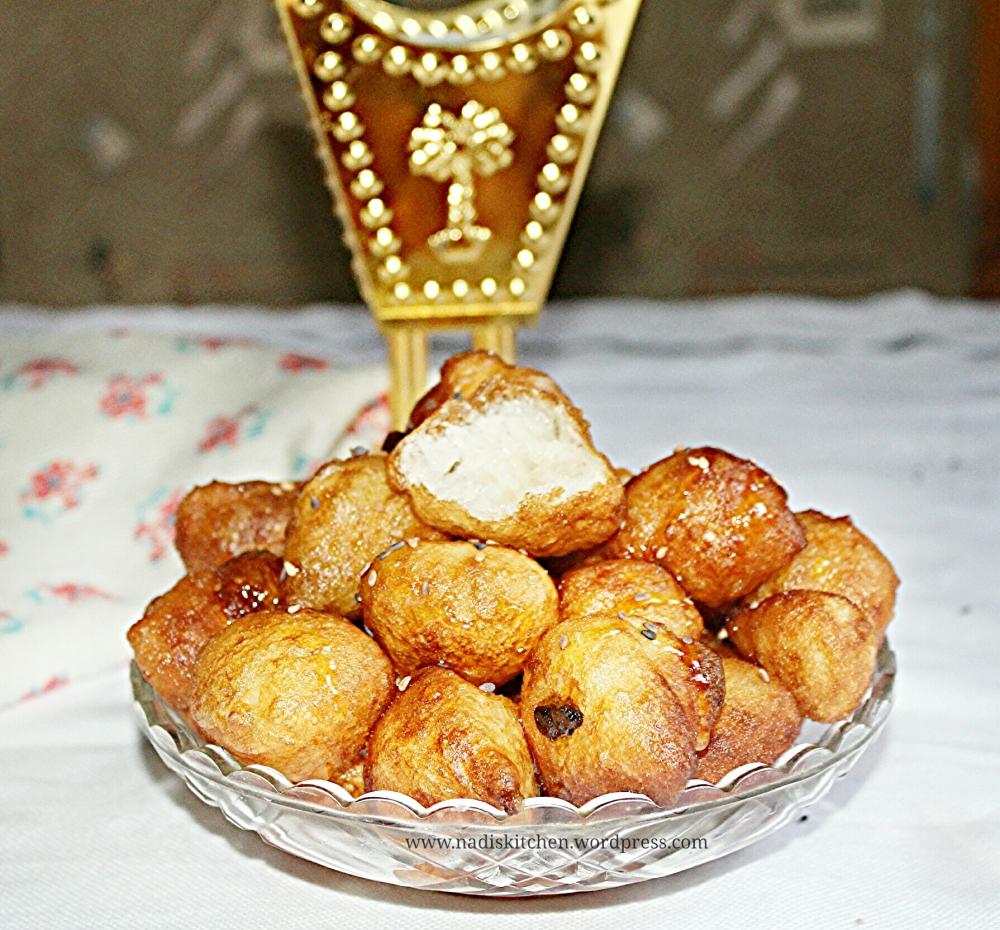 luqaimat recipe (middle eastern sweet dumplings)