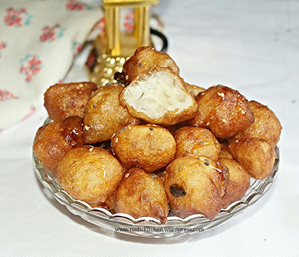 Luqaimat (Middle Eastern Sweet Dumplings)