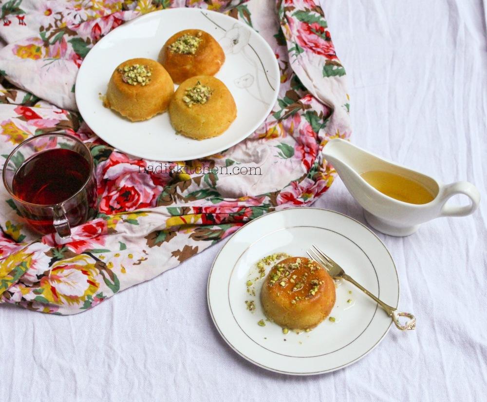Mini kunafa with homemade Kunafa dough